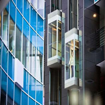 پاورپوینت موارد مورد نظر در طراحی انواع آسانسور