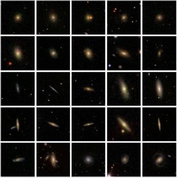 شبیه سازیمقاله طبقه بندی تصاویر کهکشان با شبکه عصبی عمیق با پایتون