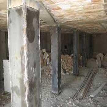 تحقیق و پاورپوینت شناسایی علل نیاز به تعمیر و تقویت ساختمان های فولادی