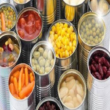 تحقیق علل مختلف فساد مواد غذایی کنسروی