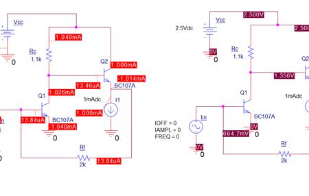 پروژه شبیه سازی مدار الکترونیکی فیدبک دار در پی اسپایس
