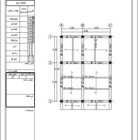 پروژه متره و برآورد ساختمان براساس فهرست بها سال 99 با اکسل