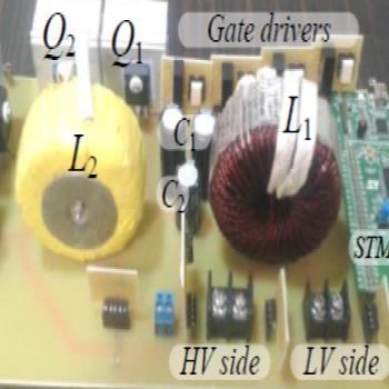 پروژه شبیه سازی یک مبدل DC-DC دو جهته درجه 2 قابل توسعه برای کاربردهای V2G و G2V با متلب
