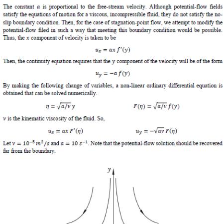 پروژه سیالات پیشرفته بررسی و اثبات معادلات ode حاکم با متلب