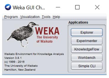 پروژه دسته بندی داده های یک دیتاست به دو روش خوشه بندی و طبقه بندی و با weka