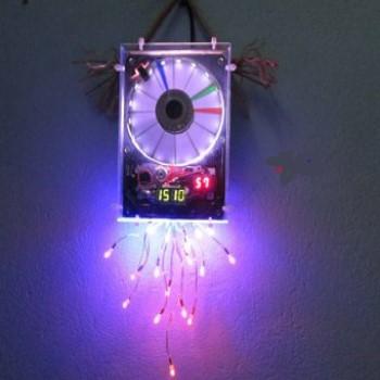 پروژه کد نویسی برای clock drive (ساعت) برای زبان vhdl