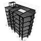 پروژه تحلیل و طراحی دستی پروژه فولاد و بتن سازه ای با ارتفاع 9.08 متر با ایتبس