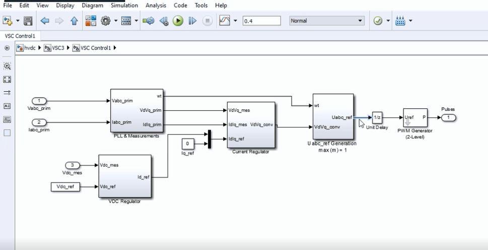 پروژه تحلیل پایداری فرکانسی و اینرسی در سیستم ac متصل به hvdc با متلب