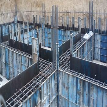پروژه متره و قالب بندی فولادی اجزا سازه با اکسل