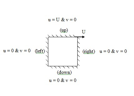 پروژه گسسته سازی معادله ناویر استوکس با روش های سای امگا و سیمپل با متلب