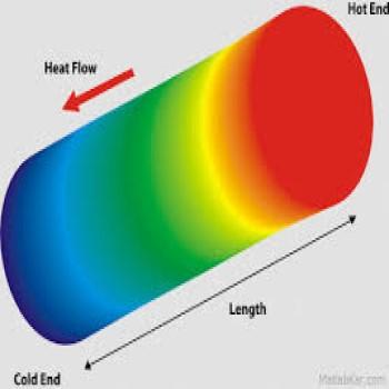 پروژه محاسبه توزیع دما در امتداد میله ای به طول یک متری که مقادیر دما در ابتدا و انتهای آن مشخص است با تک پلات و فرترن