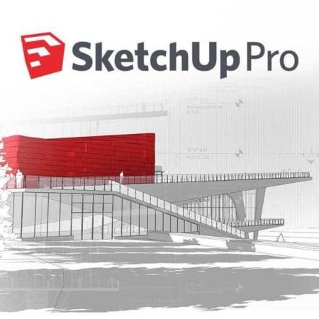 پروژه مدلسازی و متریال دهی مرکز محله با نرم افزار اسکچاپ