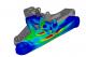 پروژه مدل سازی و تحلیل برخورد گلوله صلب به پنل ضد گلوله با آباکوس
